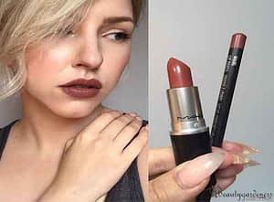 mac whirl lipstick review