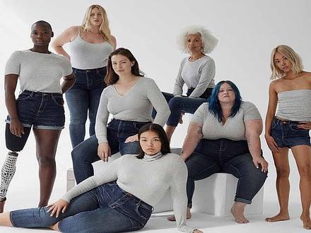 best jeans for apple shape