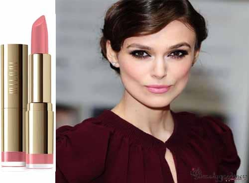 lipstick that goes with burgundy dress