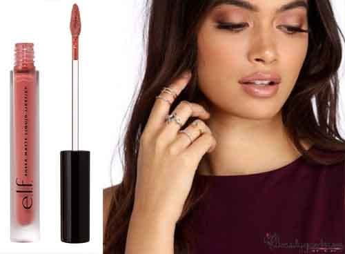 what color lipstick to wear with burgundy dress