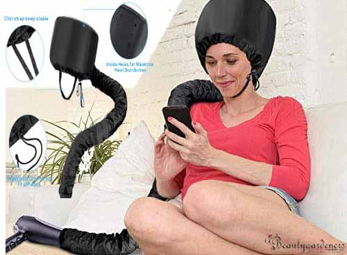 skywee hooded hair dryer attachment