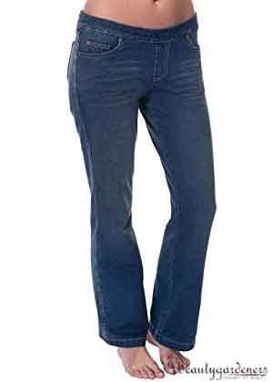 best jean style for apple shape