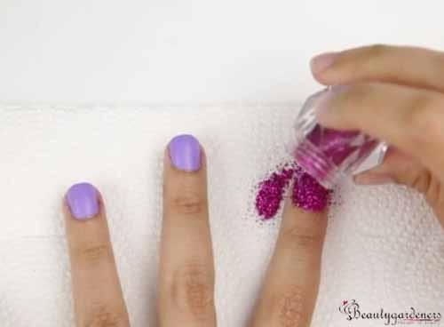 nail polish glitter powder